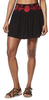 F&F Embroidered Beach Skirt XS