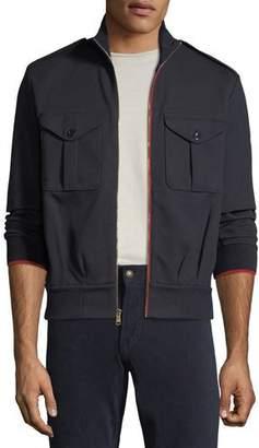 Ralph Lauren Men's Contrast-Trim Track Jacket