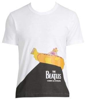 Comme des Garcons Beatles Yellow Submarine Cotton Tee