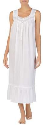 Eileen West Sleeveless Long Cotton Ballet Nightgown