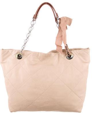 Lanvin Large Amalia Shopping Bag $355 thestylecure.com