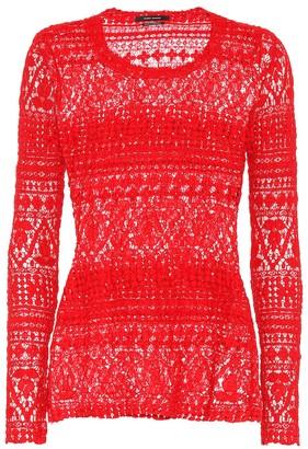 Isabel Marant Yulia cotton-blend top