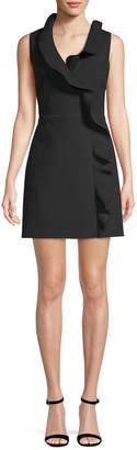 MSGM Ruffle Short Dress