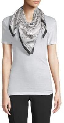 Emilio Pucci Graphic Silk Scarf