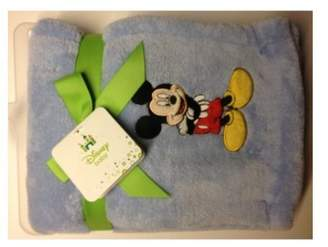 Kids Line Disney Mickey Mouse Embroidered Baby Blanket
