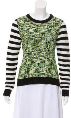 Nicole Miller Knit Long Sleeve Sweater