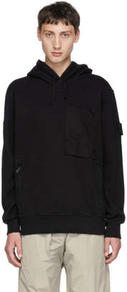 Stone Island Shadow Project Black Fleece Hoodie