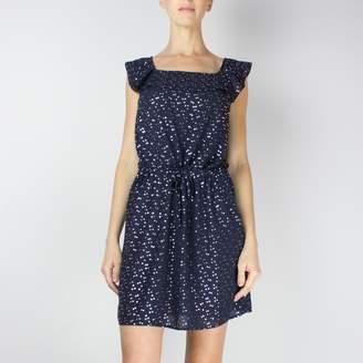 Le Temps Des Cerises Sleeveless Printed Midi Dress