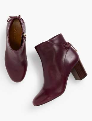 Talbots Lilia Block-Heel Ankle Boots