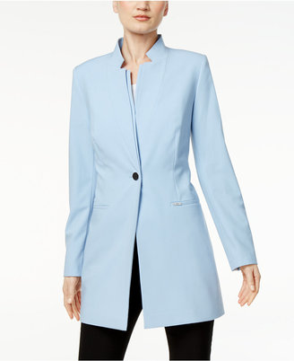 Calvin Klein Stand-Collar Topper Jacket $139 thestylecure.com