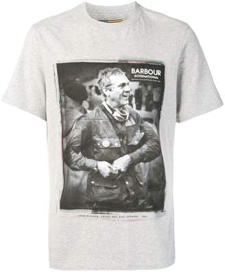 Barbour Printed Cotton T-shirt