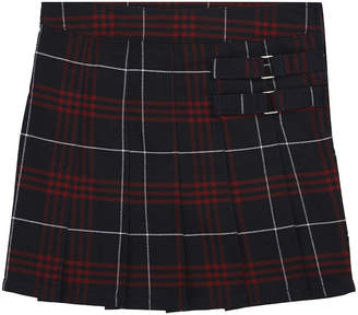 French Toast Plaid Two-Tab Scooter - Big Kid Girls Plus