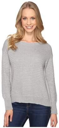 Mod-o-doc Fully Fashion Sweater Side Zip Sweater Women's Sweater