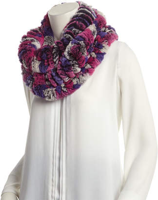 Surell Brown Infinity Scarf