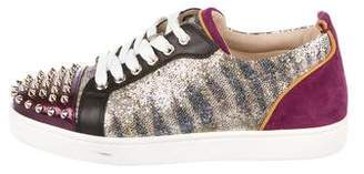 Christian Louboutin Louis Junior Spike Sneakers