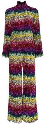 Ashish rainbow sequin embellished jumpsuit