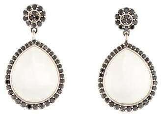 Jamie Wolf 18K Moonstone & Diamond Drop Earrings