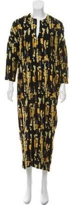 Zero Maria Cornejo Patterned Maxi Dress