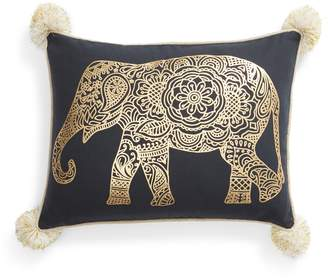 Levtex Emory Pom Elephant Accent Pillow