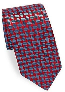 Charvet Men's Patterned Silk Tie