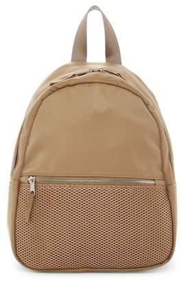 Madden Girl Nylon & Mesh Backpack $64 thestylecure.com