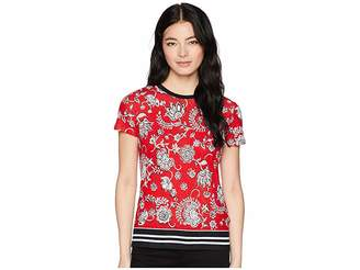 Lauren Ralph Lauren Petite Linen-Blend-Jersey T-Shirt