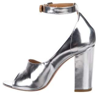 3.1 Phillip Lim Leather Metallic Pumps