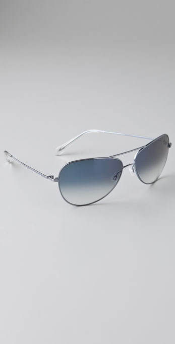 Oliver Peoples Eyewear Pryce Aviator Sunglasses