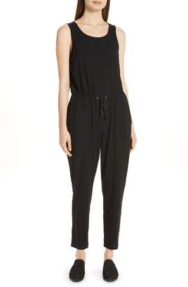 Eileen Fisher Drawstring Slouchy Jumpsuit