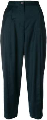 Chalayan tapered pinch trousers