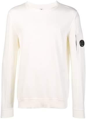 C.P. Company logo patch sweatshirt