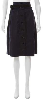 Sonia Rykiel Sonia by Button-Up Knee-Length Skirt