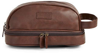 Perry Ellis Textured Faux Leather Travel Kit