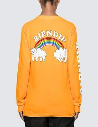 Ripndip Double Nerm Rainbow Long Sleeve T-shirt