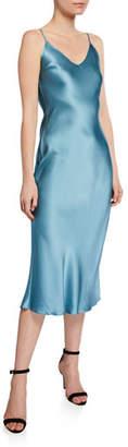 SABLYN Taylor Silk Slip Midi Dress
