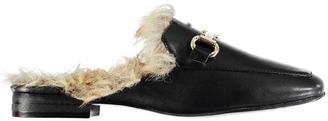 Glamorous Fur Mules