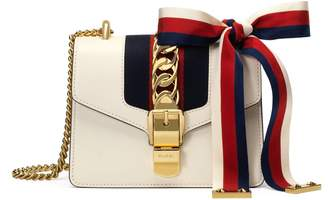 Sylvie leather mini chain bag $1,980 thestylecure.com