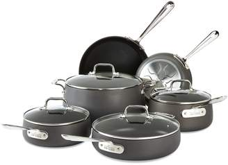 All-Clad Hard Anodized 10-Piece Nonstick Cookware Set