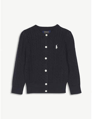 Ralph Lauren Cable-knit cotton cardigan 2-4 years