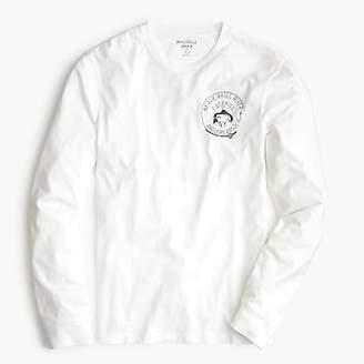 J.Crew Beaverkill river graphic long-sleeve T-shirt