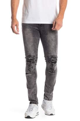 TR Premium Slim Fit Stretch Washed Denim Jeans - 30-32 Inseam