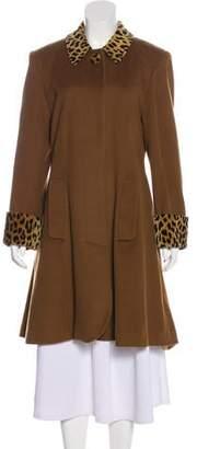 Christian Dior Wool Short Coat