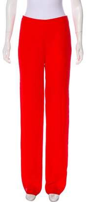 Gianfranco Ferre Mid-Rise Wide-Leg Pants w/ Tags