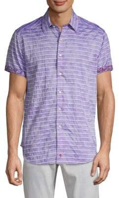 Robert Graham Avenida Striped Button-Down Shirt