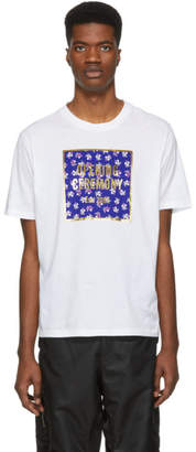 Opening Ceremony White Floral Box Logo T-Shirt