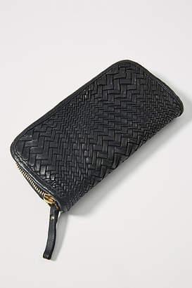 Campomaggi Woven Zip Wallet
