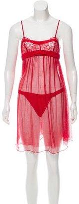 La Perla Bow-Accented Lingerie Set w/ Tags $145 thestylecure.com