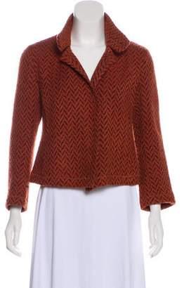 Akris Patterned Knit Jacket