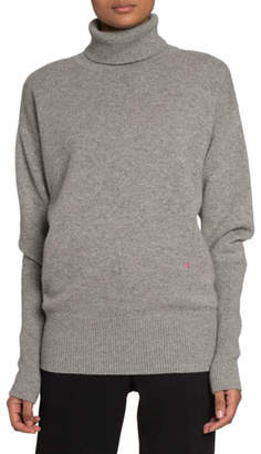 Victoria Beckham Cashmere Oversized Polo-Neck Sweater