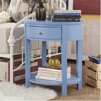 Weston Home Chelsea Lane Oval Accent Table, Multiple Colors